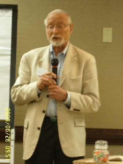 Edgar Cahn at  the Madison Wisconsin Convention